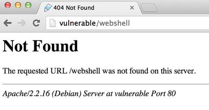 Webshell 404