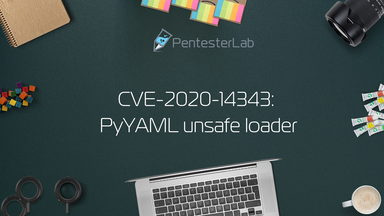 image for CVE-2020-14343: PyYAML unsafe loader