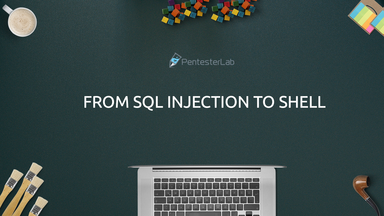 image for From SQL Injection to Shell