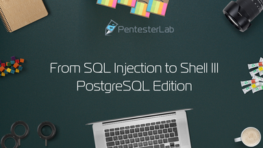 image for From SQL injection to Shell III: PostgreSQL Edition