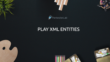 image for Play XML Entities